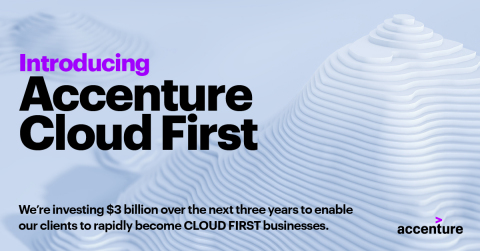 Introducing Accenture Cloud First (Graphic: Business Wire)