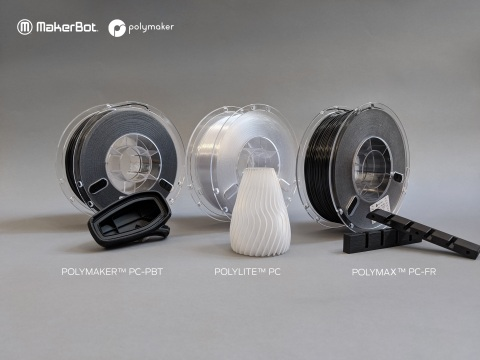 Polymaker PC materials now available for MakerBot LABS for METHOD (Photo: Business Wire)