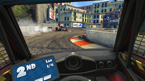 Mini Motor Racing X explodes onto Nintendo Switch with local split screen and online multiplayer high-octane racing action! (Photo: Business Wire)
