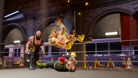 WWE 2K Battlegrounds will be available on Sept. 18. (Photo: Business Wire)