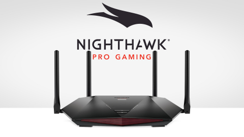 Now available for $349.99 USD from NETGEAR.com and other online retailers, the Nighthawk Pro Gaming XR1000 is the first WiFi 6 gaming router powered by DumaOS 3.0 gaming software. (Graphic: Business Wire)
