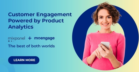 MoEngage and Mixpanel partner to enable highly personalized customer engagement (Graphic: Business Wire)