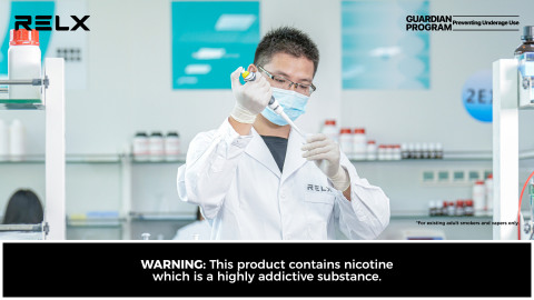 RELX Technology announced the company has started operations at its newly-established e-cigarette bioscience laboratory (Photo: Business Wire)