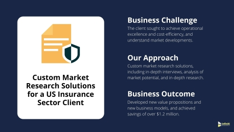 Custom Market Research Solutions for a US Insurance Sector Client (Graphic: Business Wire)