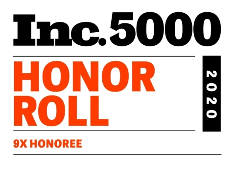 Inc. 5000 Honor Roll - Spectrio (Graphic: Business Wie)