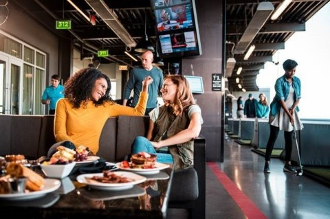 Topgolf is supporting Susan G. Komen® through reservations made at participating Topgolf venues. Learn more at www.livepink.org. (Photo: Business Wire)