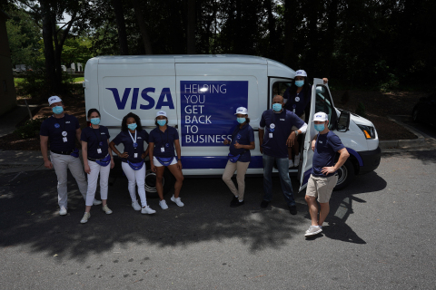 Visa Street Teams have already visited more than 185,000 small businesses in 66 U.S. cities and 15 markets. (Photo: Business Wire)