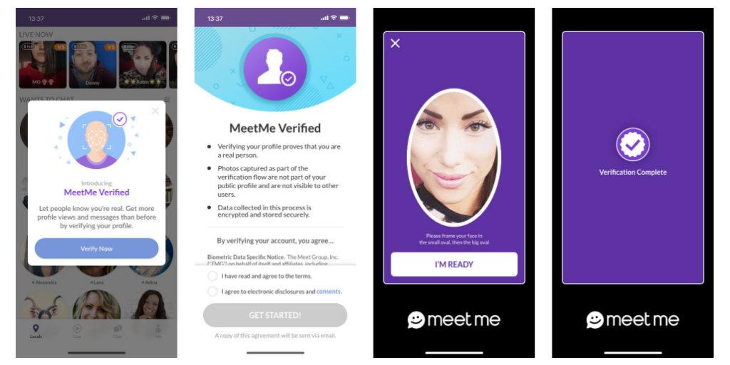 Account meetme verify MeetMe
