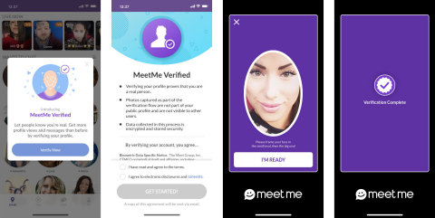 AI-powered, human liveness, and 3D face verification sets new dating app standard for authenticity (Photo: Business Wire)