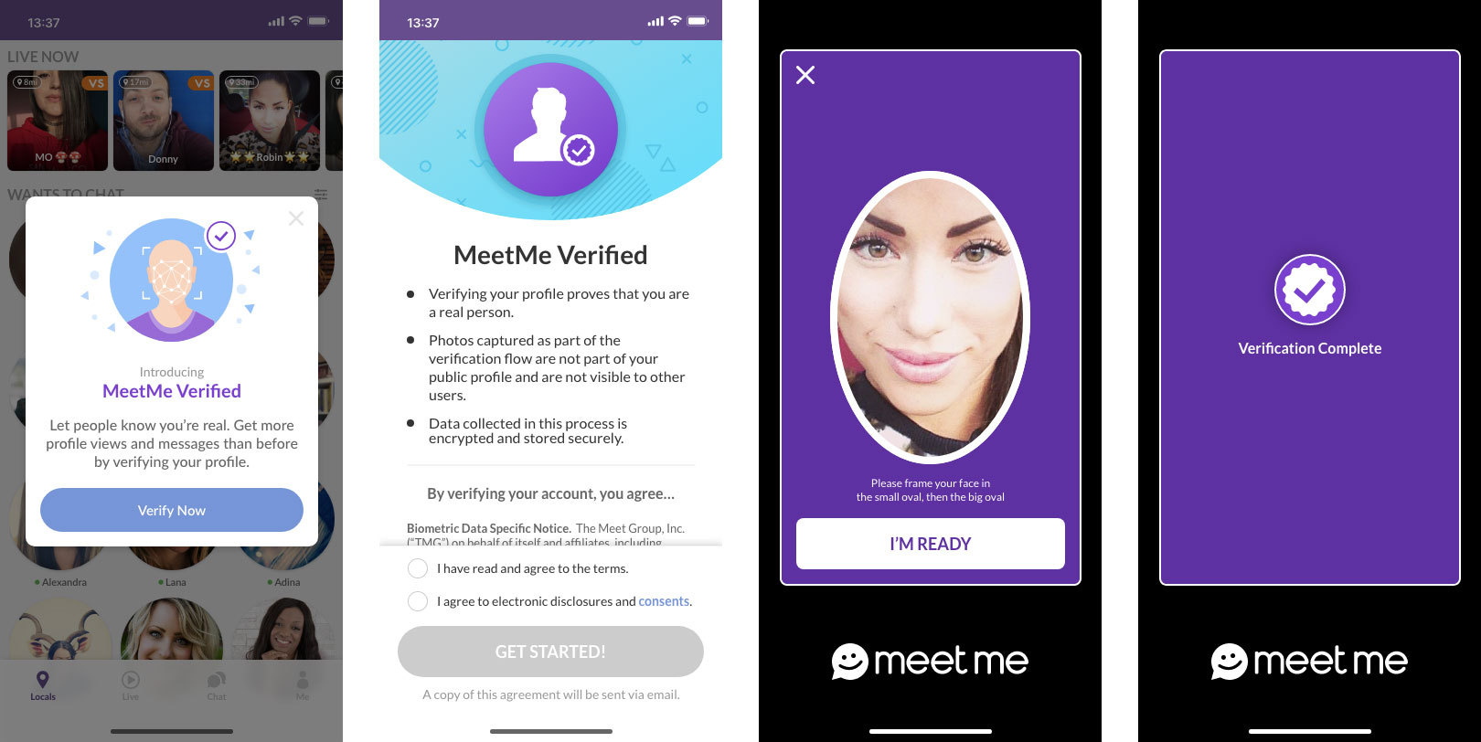 In age to meetme app your change MeetMe