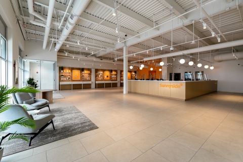 Cresco Labs' Sunnyside dispensary provides a welcoming, convenient shopping experience (Sunnyside Buffalo Grove pictured) (Photo: Business Wire)