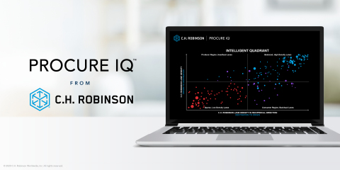 Amid the most volatile market in history, C.H. Robinson's new Procure IQ tool delivers smarter solutions that cut costs and drive greater reliability. (Photo: Business Wire)