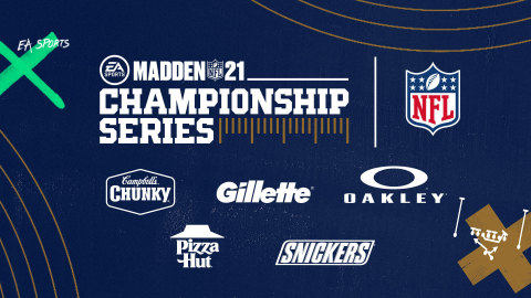 Madden NFL 21 Championship Series Sponsors (Graphic: Business Wire)
