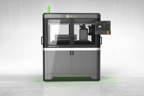 The InnoventPro is slated to be the most advanced entry-level binder jetting system for 3D printing metals, ceramics and composites. Aside from supersized build areas and print speeds, it will offer the ability to print NanoFuse™ particulate binders that will improve sinterability of metal parts. (Photo: Business Wire)