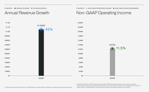 Financial Outlook (Graphic: Palantir Technologies Inc.)