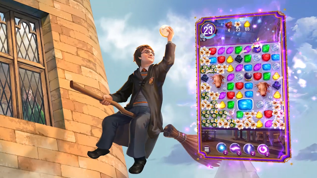 Zynga Launches Harry Potter: Puzzles & Spells Worldwide