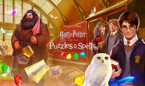 Zynga Launches Harry Potter: Puzzles & Spells Worldwide (Photo: Business Wire)