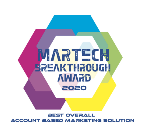 """MRP Prelytix Named """"Best Overall Account-Based Marketing Solution"""" (Graphic: Business Wire)"""