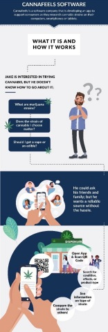 Cannafeels Infographic (Graphic: Business Wire)