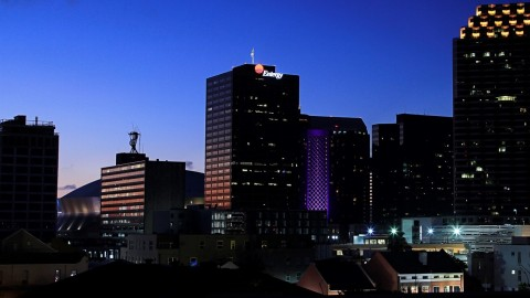 Entergy Corporation headquarters building in New Orleans, Louisiana. (Credit: Entergy)