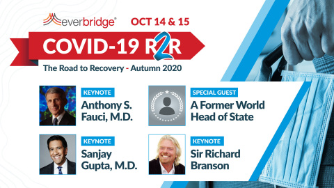 Former World Head of State to Address Attendees at Everbridge's COVID-19: Road to Recovery (R2R) Symposium, October 14-15, 2020 (Photo: Business Wire)
