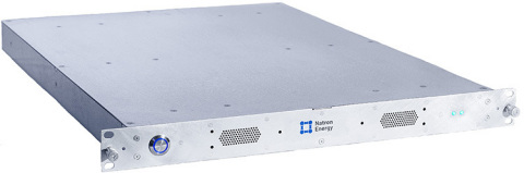 Natron's BlueTray™ Sodium-ion 4000 battery is a self-contained unit with none of the fire, toxic gas or thermal runaway risks associated with lithium or lead batteries. (Photo: Business Wire)