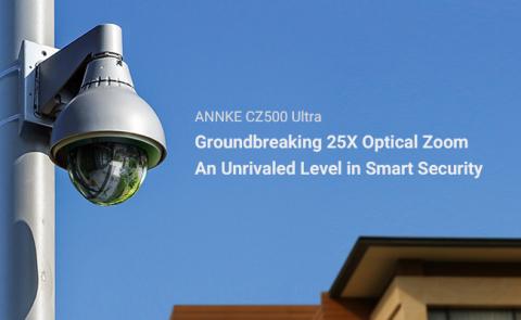 ANNKE CZ500 Ultra PoE PTZ IP Camera (Photo: Business Wire)