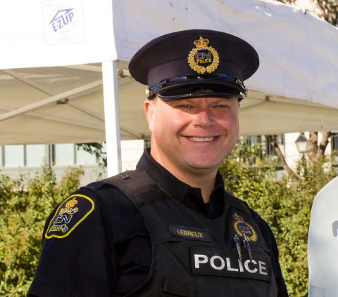 Operation Lifesaver Canada is pleased to announce that CN Police Constable André LeBreux is the recipient of its prestigious 2019 Roger Cyr Award. (Photo: Business Wire)