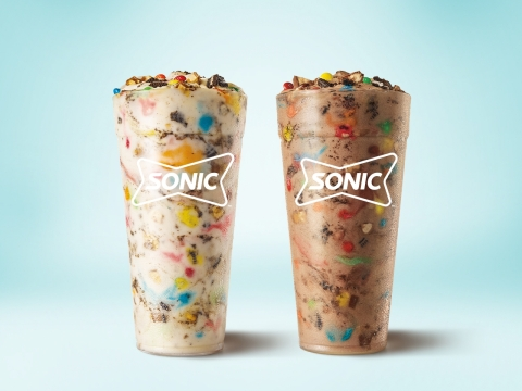 Sonic blends three Halloween favorites to create new Trick or Treat Blasts. (Photo: Business Wire)