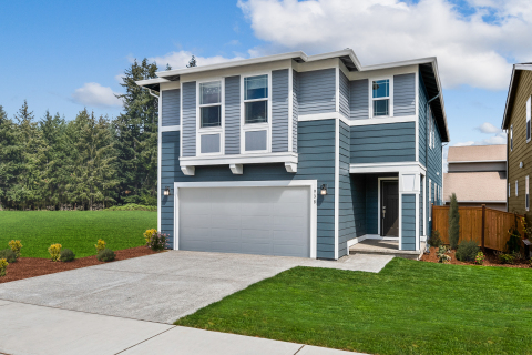 KB Home announces the grand opening of Little Soos Creek, its latest new-home community in Covington, Washington, priced from the $490,000s. (Photo: Business Wire)