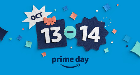 Prime Day is here! (Graphic: Business Wire)