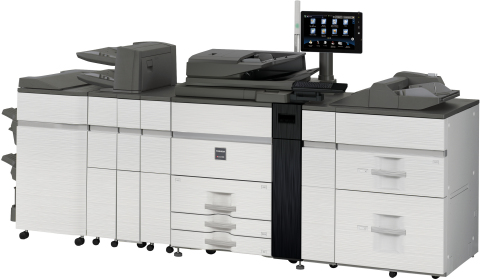 Toshiba's High-Productivity Systems Ease High-Volume Printing (Photo: Business Wire)