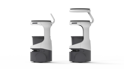 Meet Servi, the new line of robots from Bear Robotics (Graphic: Business Wire)