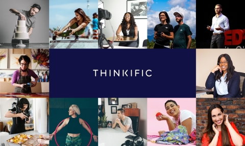 Thinkific, the leading platform for creating and selling online courses (Photo: Business Wire)