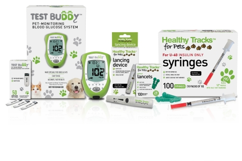 Test Buddy™ and Healthy Tracks for Pets™ portfolio (Photo: Business Wire)