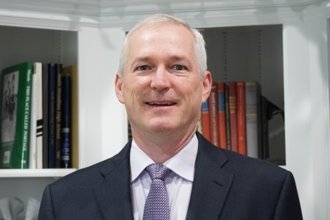 Dr. James E. McCarthy, Jr., a chief engineer with Eaton's Vehicle Group, has been awarded the 2020 Outstanding Mechanical Engineering Award from Purdue's School of Mechanical Engineering for his work on conserving fossil fuels and reducing emissions. (Photo: Business Wire)