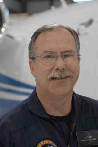 Tom Carr, Garmin director of flight operations and chief test pilot. (Photo: Business Wire)