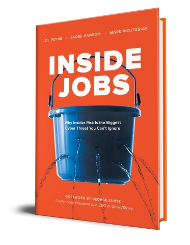 Data security company Code42 released a new book, Inside Jobs: Why Insider Risk is the Biggest Cyber Threat You Can't Ignore, authored by Joe Payne, Jadee Hanson and Mark Wojtasiak. Copyright 2020 Code42 Software, Inc.