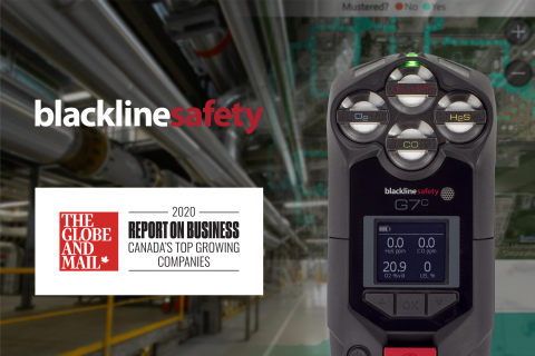 Blackline Safety places No. 145 on Canada's Top Growing Companies ranking (Photo: Business Wire)