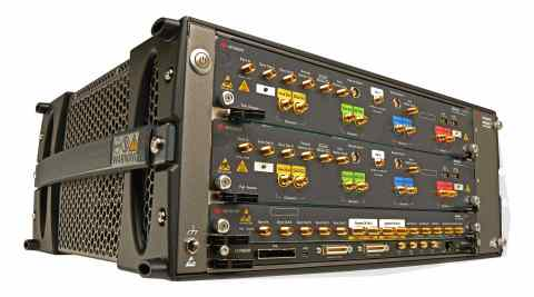 Keysight's M8199A, the industry first 256 GSa/s, 65 GHz bandwidth AWG (Photo: Business Wire).