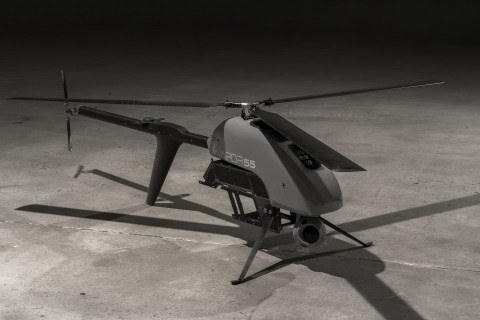 AeroVironment's all-electric VAPOR® 55 helicopter unmanned aircraft system (Photo: Business Wire)