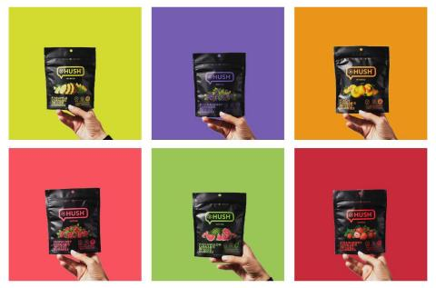 All-vegan 10mg THC gummies combine natural flavors and colors. (Photo: Business Wire)