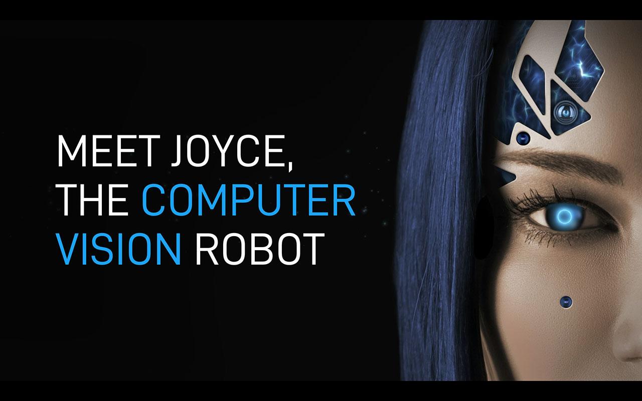 Immervision推出了JOYCE,這是世界上第一台由計算機視覺社區開發的人型機器人