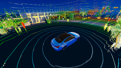 Velodyne Lidar technology provides real-time 3D vision that allows autonomous systems to see their surroundings. Velodyne solutions meet the needs of a wide range of industries such as autonomous vehicles and growing new markets. (Photo: Velodyne Lidar, Inc.)