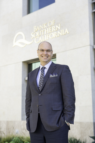 Nathan Rogge, President and CEO of Bank of Southern California, Named 2020 CEO of the Year by the San Diego Business Journal. (Photo: Business Wire)