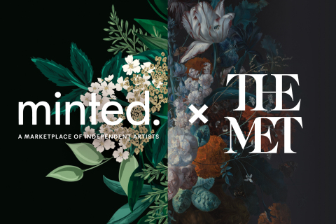 Minted, the design marketplace that brings unique design from the best independent artists to consumers everywhere, today announced a collaboration with The Metropolitan Museum of Art to reimagine classic works of art as contemporary holiday card and greeting card designs by Minted's global community of independent artists. (Graphic: Business Wire)