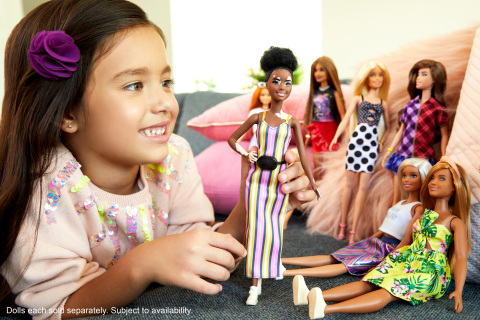 NEW STUDY SHOWS THAT PLAYING WITH DOLLS ALLOWS CHILDREN TO DEVELOP EMPATHY AND SOCIAL PROCESSING SKILLS (Photo: Business Wire)