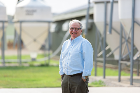 Tim Nelson founded Be Seen Be Safe, Ltd., and developed Farm Health Guardian, a real-time disease mitigation technology platform. (Photo: Business Wire)