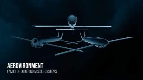 AeroVironment's Family of Loitering Missile Systems – Switchblade® 300, Switchblade® 600, Blackwing™ Loitering Reconnaissance System (Photo: AeroVironment)