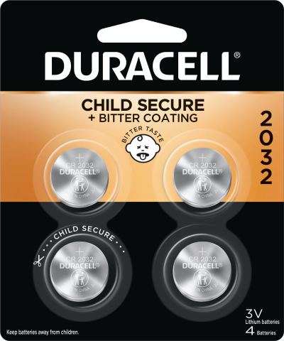 Duracell is working hard to help prevent the unthinkable from happening with the new lithium coin battery with non-toxic bitter coating (available on 2032, 2025, and 2016 sizes). (Photo: Business Wire)